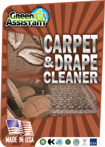 Carpet drape cleaner